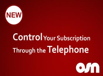 Now control your OSN subscription through